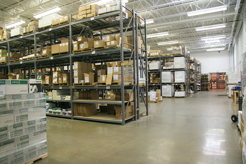 fulfillment center and warehouse