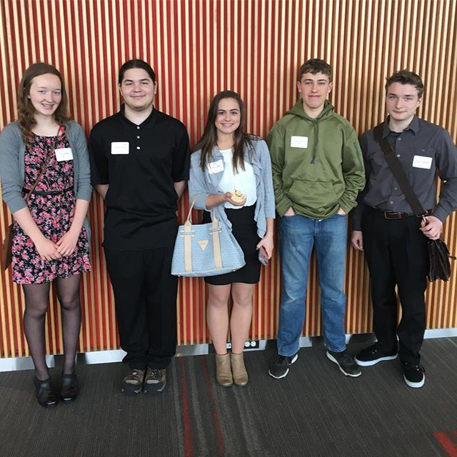 Awesome group competing in the Northwest Entrepreneurship Competition. 4 RA teams in the finals. So proud!