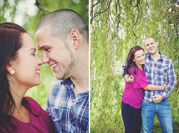 Couple's Portraits in Botanic Gardens Belfast