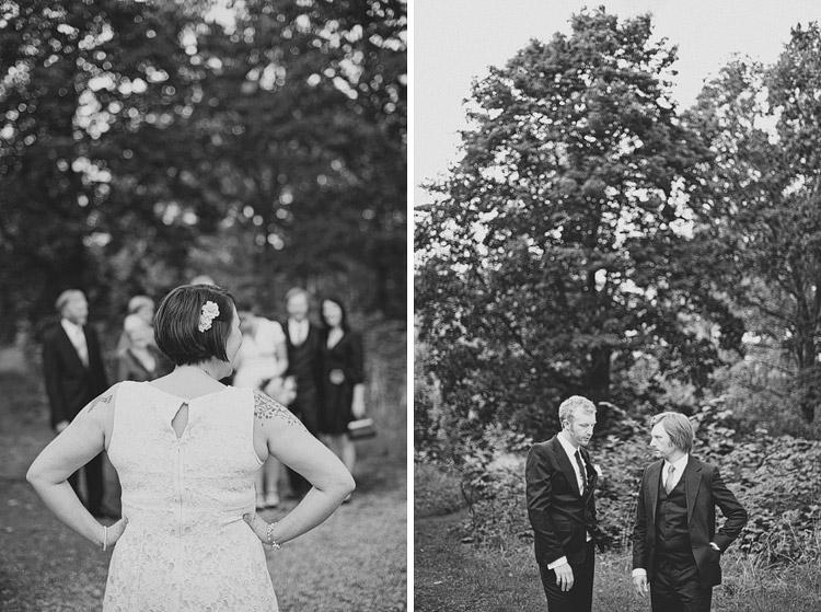 this modern love swedish wedding