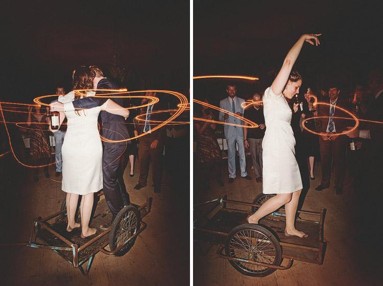 crazy swedish wedding dancing
