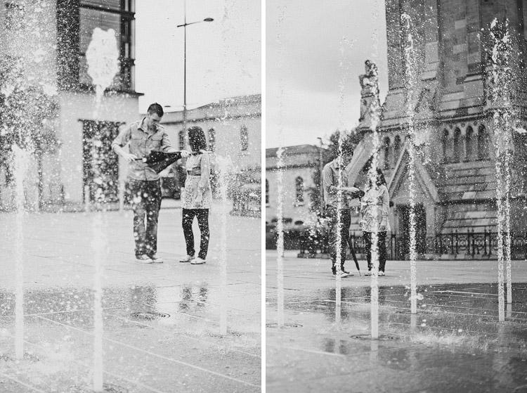 Belfast Albert clock engagement photographs