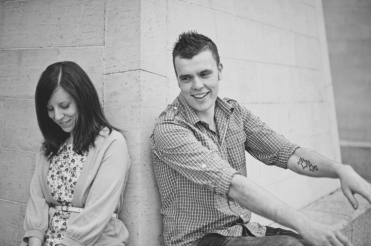 Laura and Mark Belfast engagement photos