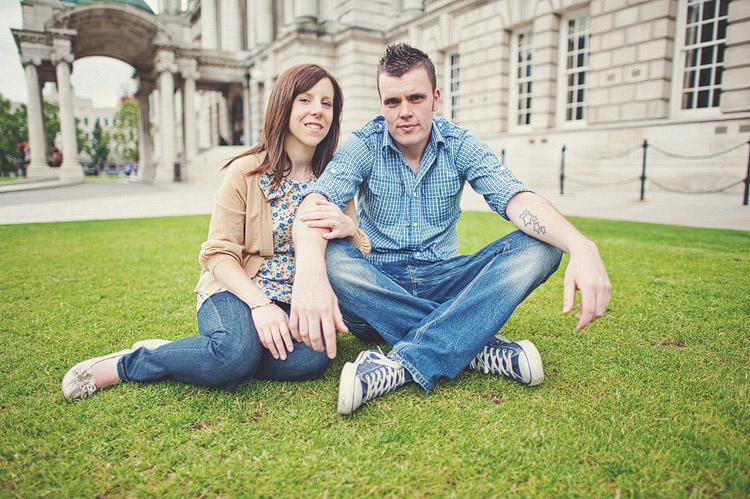 Belfast City Hall wedding photographs