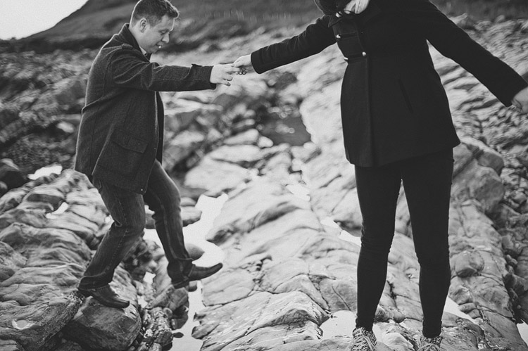 Alternative wedding photography Ireland