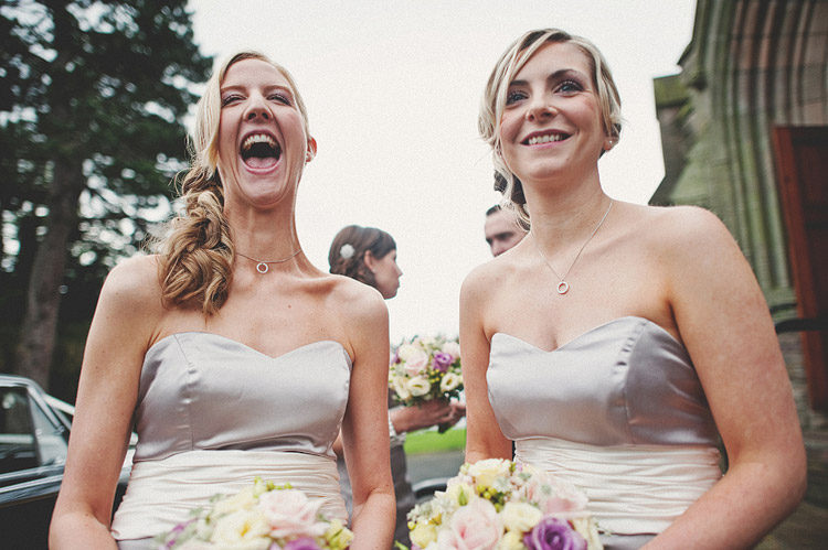 Bridesmaids Northern Ireland wedding photography