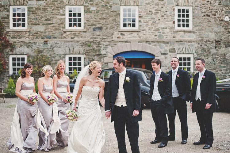 Wedding photographs Northern Ireland Ballydugan Mill