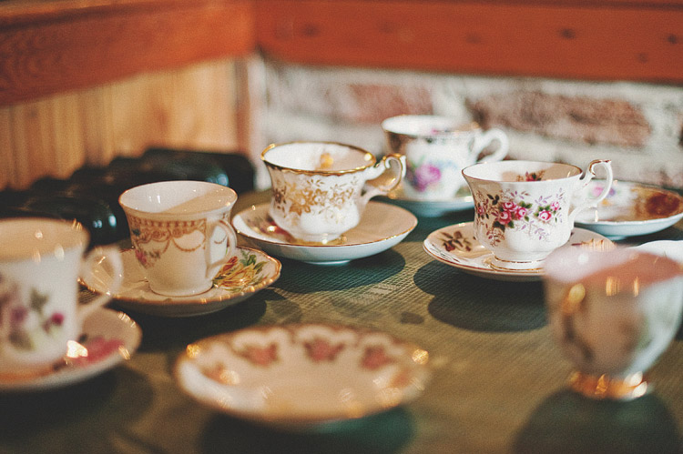 Vintage wedding china Northern Ireland