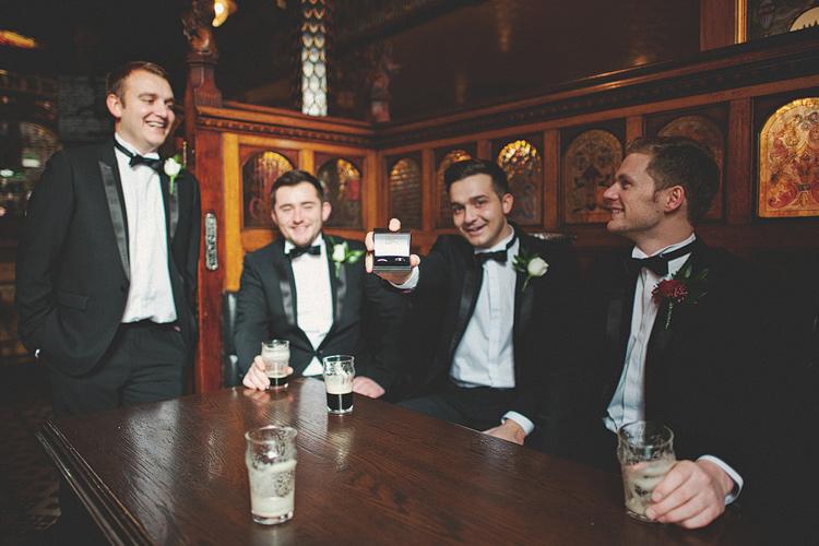 Wedding photographs Belfast pub