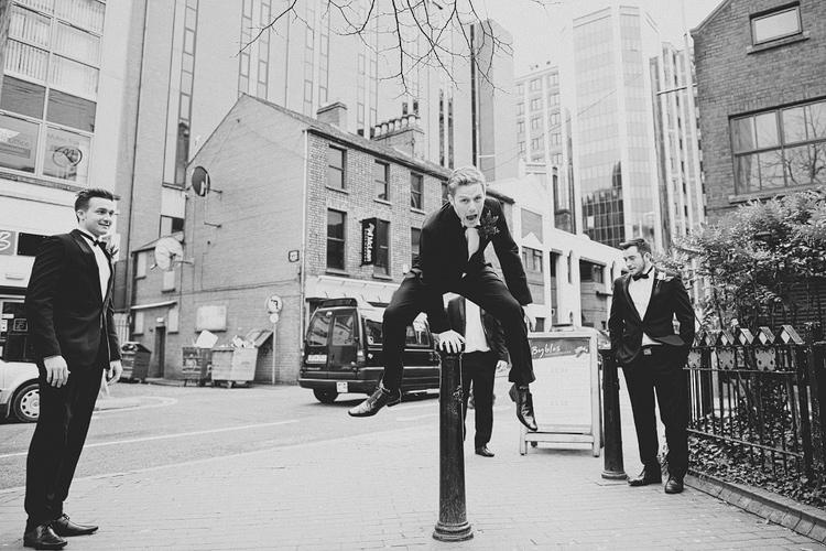 Wedding photographs Belfast city centre