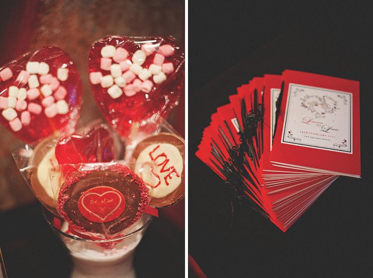 Valentine's day wedding Ireland