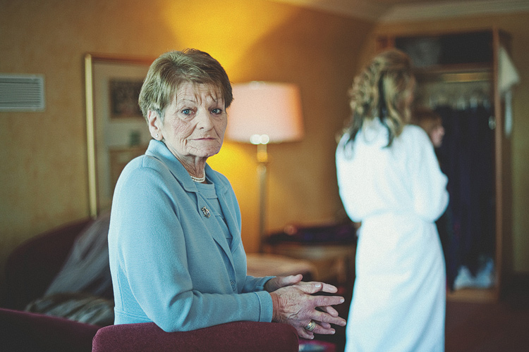 Photograph of grandmother Northern Ireland wedding