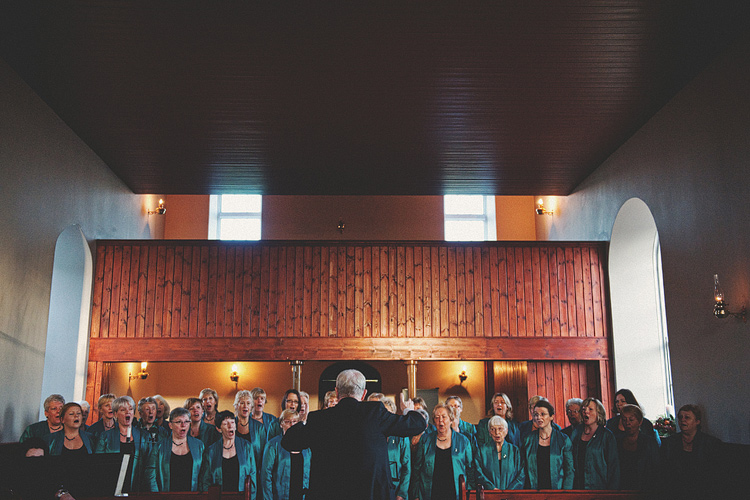 Choir at Northern Ireland wedding