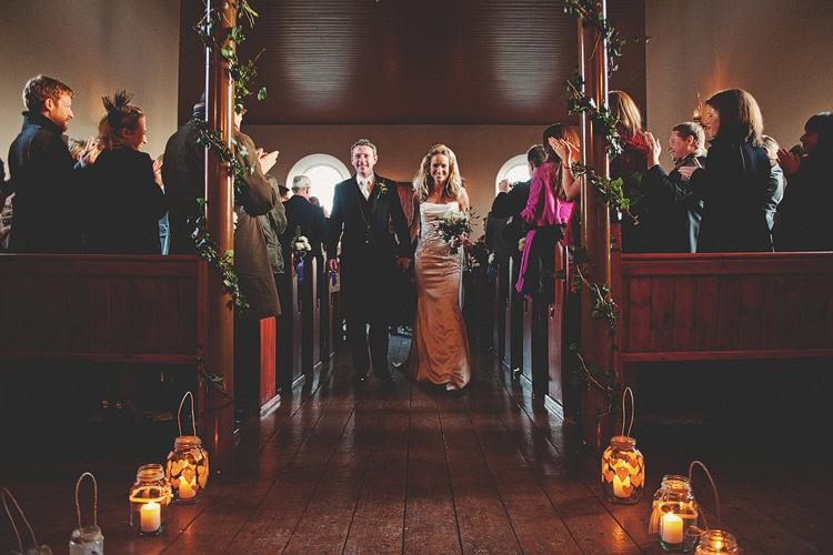 Ulster Folk and Transport Museum December wedding