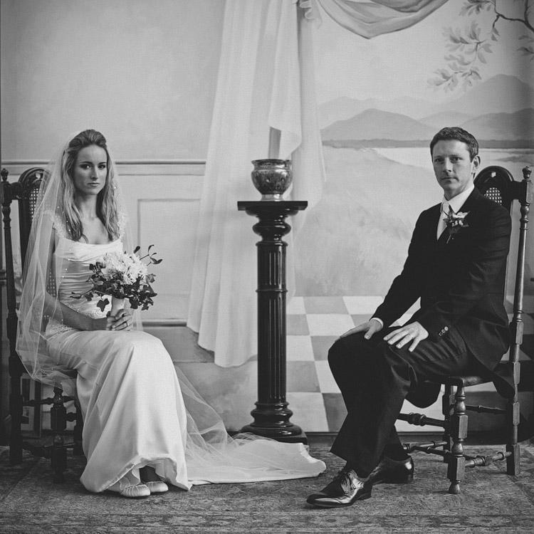 Vintage Victorian wedding photography Northern Ireland