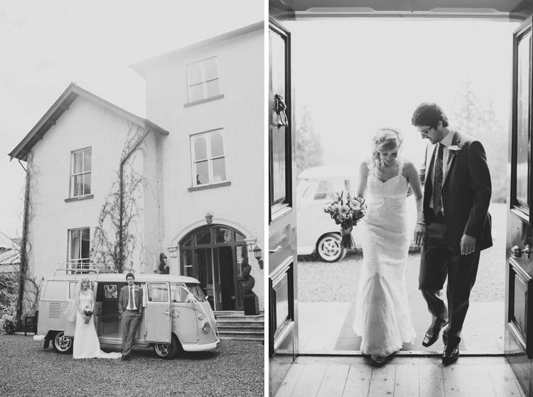 Camper van wedding Northern Ireland
