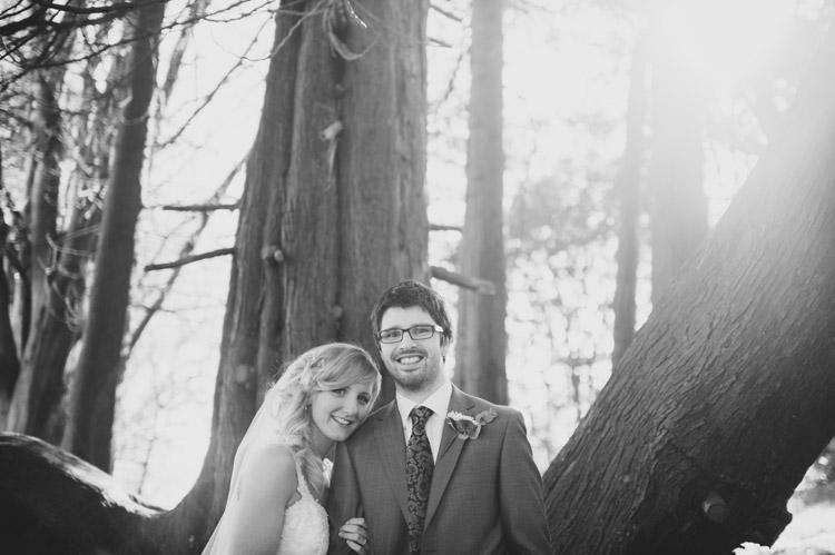 Forest wedding photographs UK and Ireland