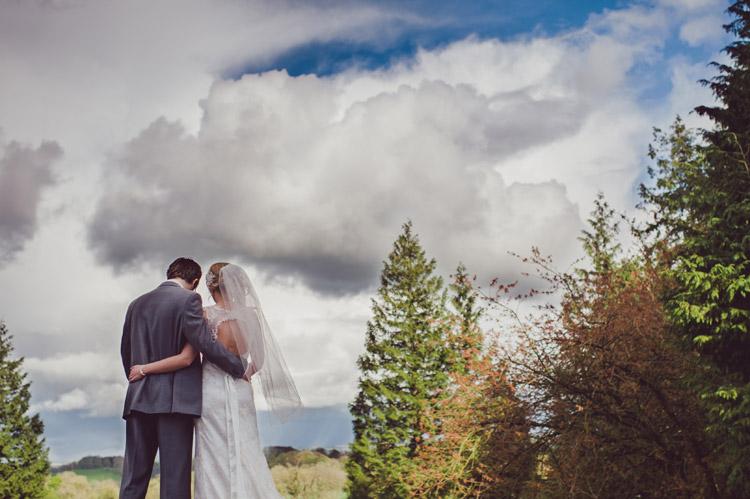 Unusual wedding photography Northern Ireland