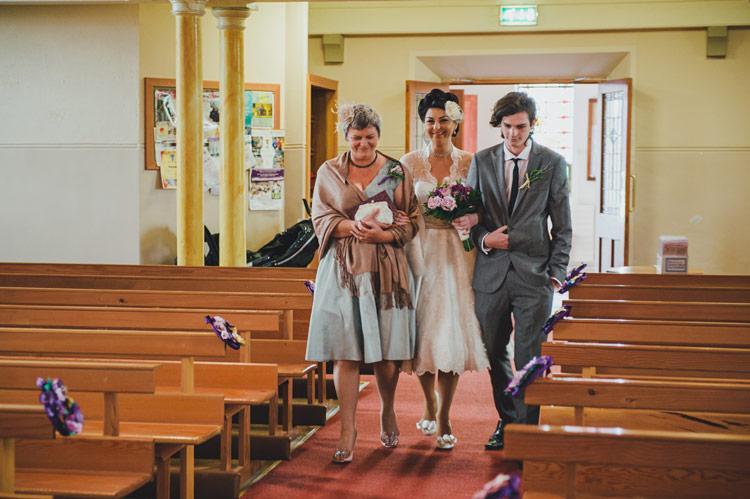 Amelia's vintage lace wedding dress Northern Ireland