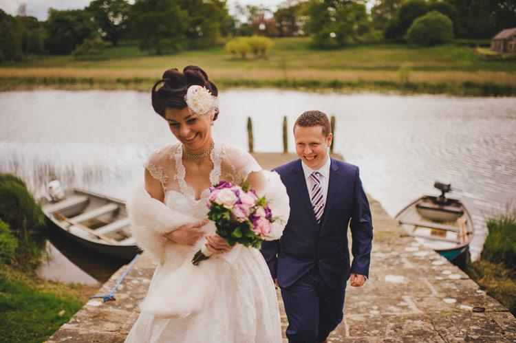 Wedding photographs Crom Castle