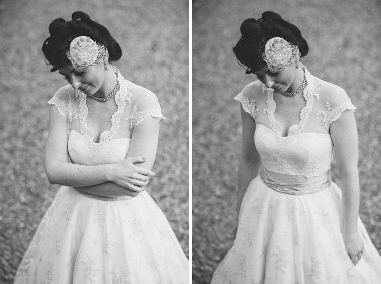 Alternative vintage bride Northern Ireland