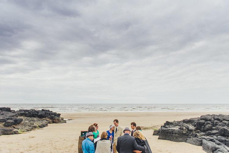 beach elopement ireland canada destination
