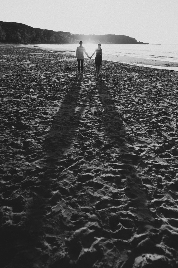sunset ireland beach hong kong engagement