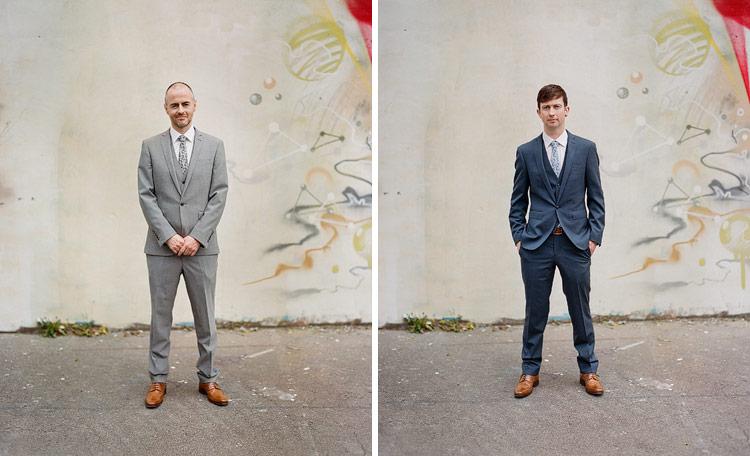 pentax 67 wedding photographs