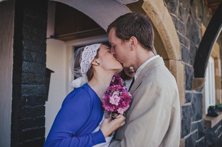 destination elopement first look