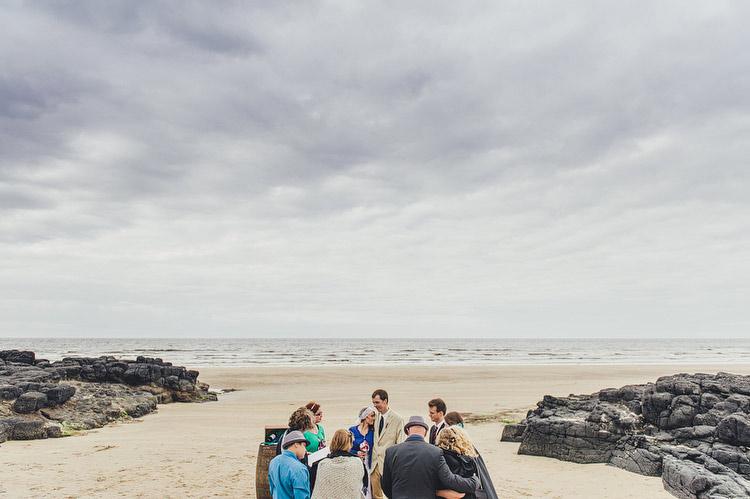 beach elopement ireland
