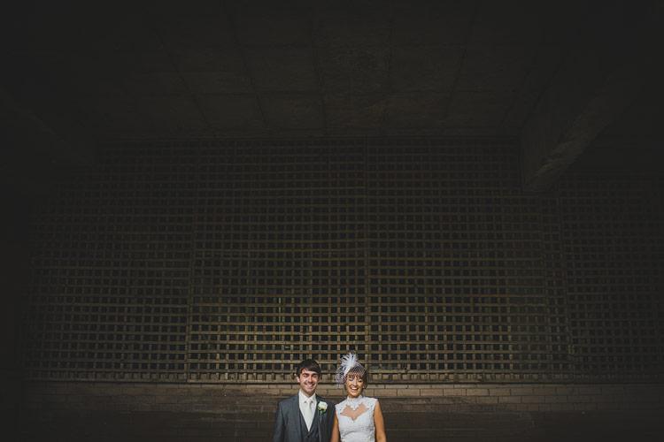 alternative wedding portrait Ireland