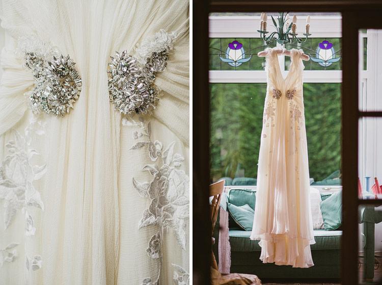 Jenny Packham dress at Northern Ireland wedding