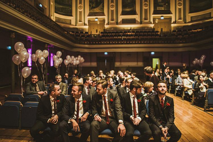 Ulster Hall wedding photos Belfast