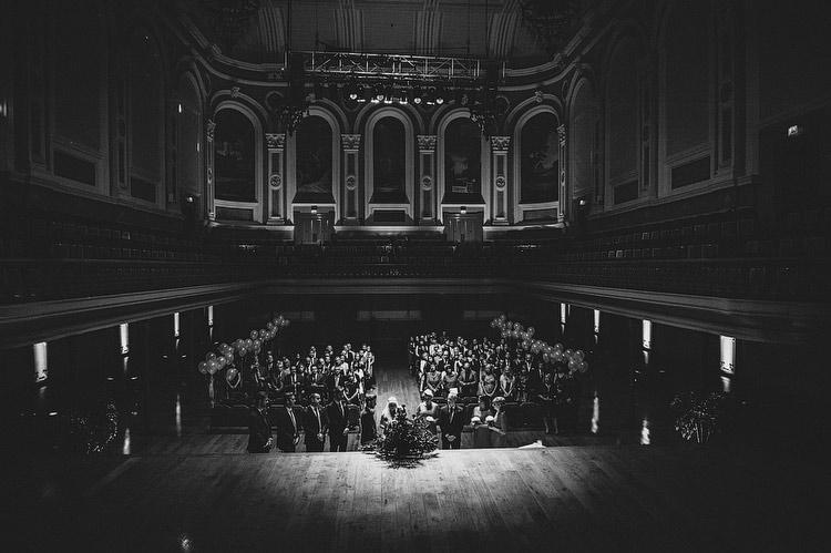 Belfast Ulster Hall wedding