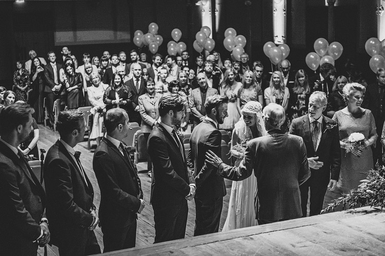 Wedding at the Ulster Hall in Belfast