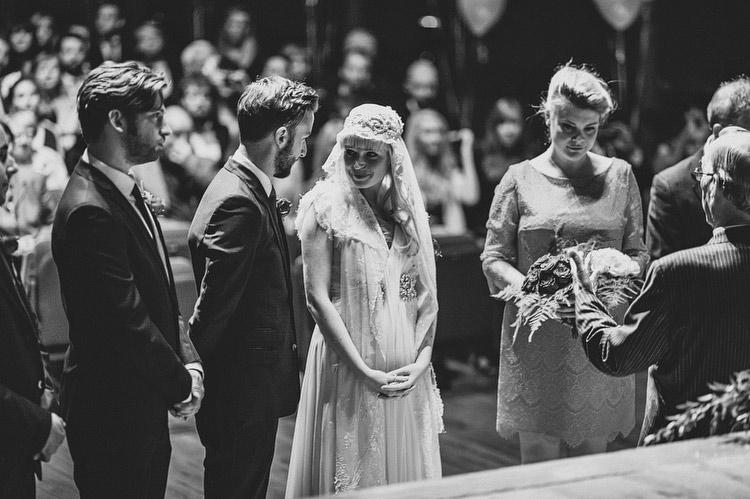 Sarah and Aaron's Ulster Hall wedding