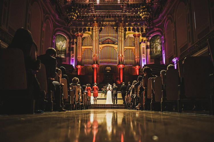 Ulster Hall wedding photographs