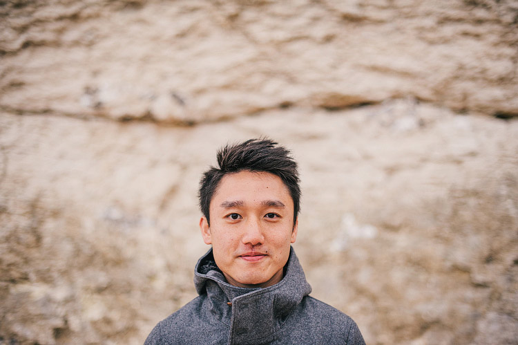 hong kong engagement portrait