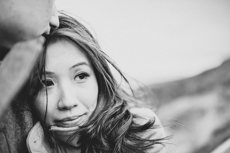 Chinese engagement photograph