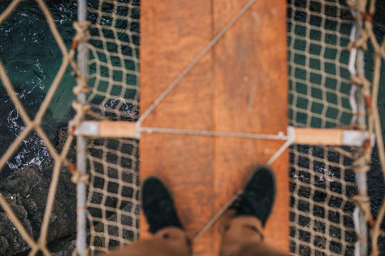 Carrick-a-Rede vertigo