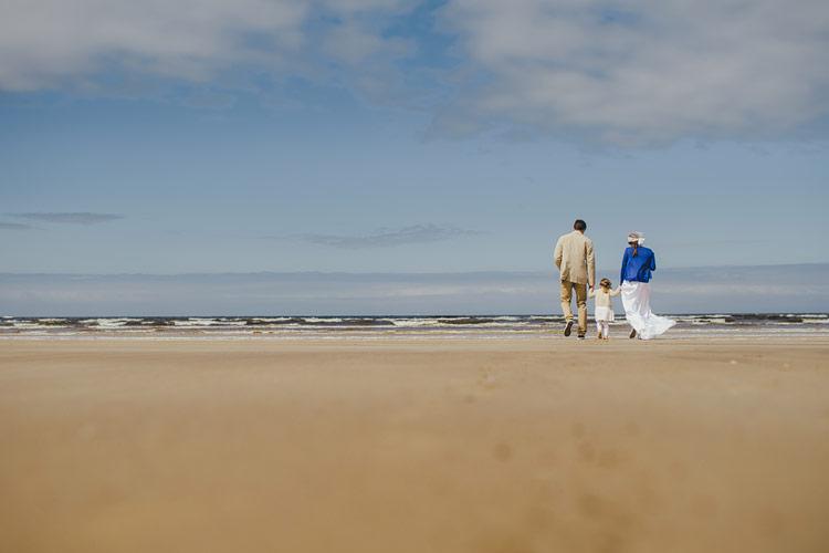 irish beach wedding