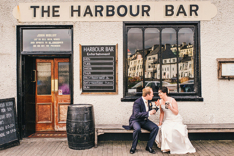 the harbour bar wedding