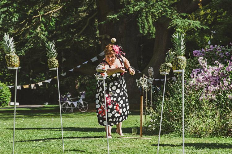 haggis pineapple shy wedding