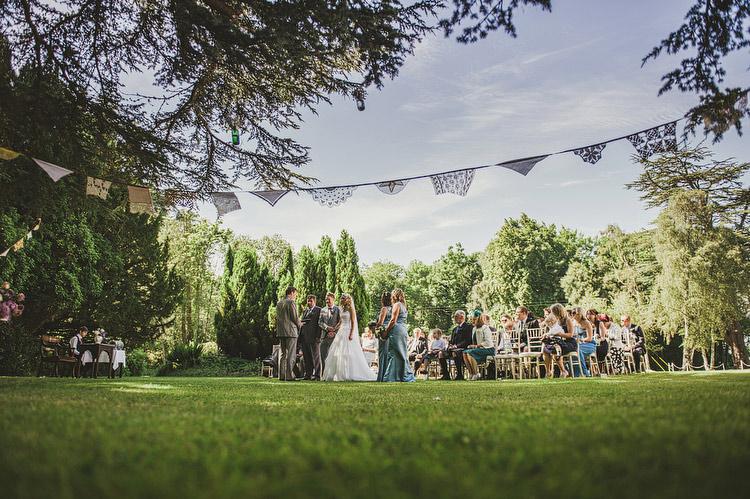 outdoor wedding scotland scottish