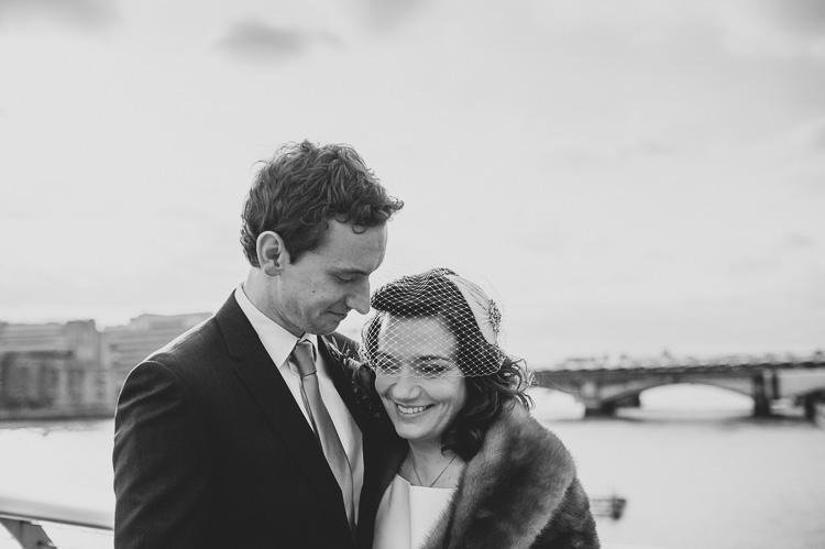 millenium bridge wedding