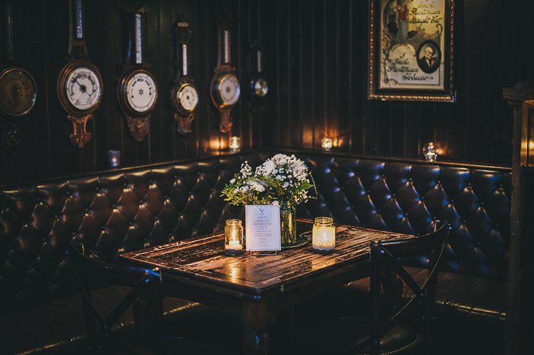 wedding irish bar pub