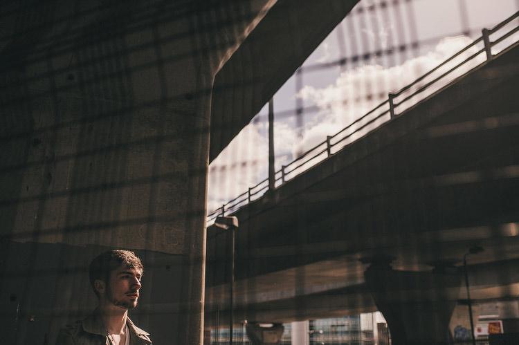 Photographs of musician Owen McGarry