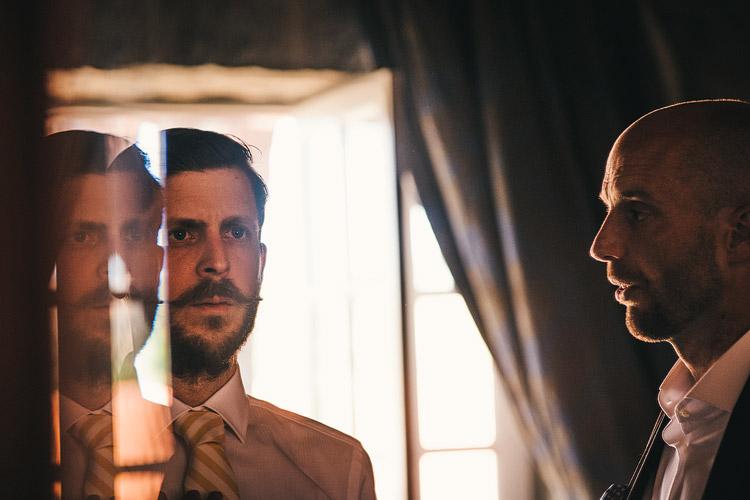 wedding groom moustache