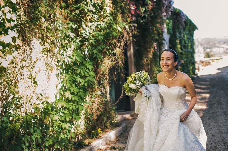 Bride Portuguese wedding photography