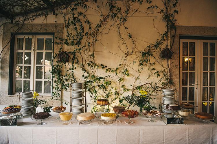 Portuguese wedding feast